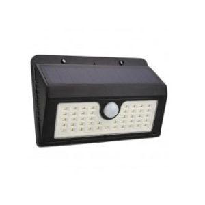 Ηλιακό Φωτιστικό Κήπου LED με 45Leds Στεγανό IP64 με Ανιχνευτή Κίνησης